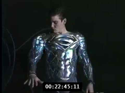 Exclusive: Suit Tests from Tim Burton's Cancelled Superman Film