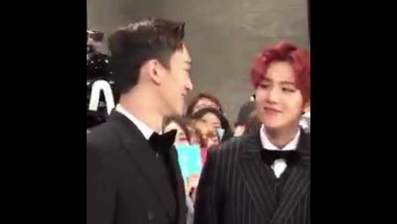 The way baekhyun smiles at him is a forever mood