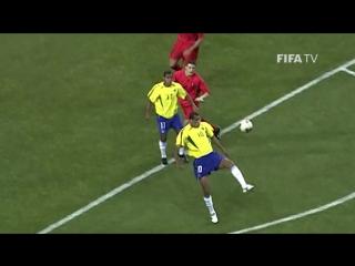 ЧМ-2002: Гол Ривалдо в ворота Бельгии