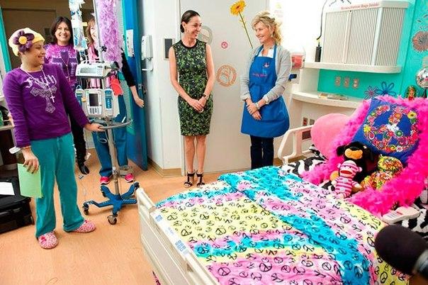 Красочные интерьеры детских больниц FfDnrvk9YmA