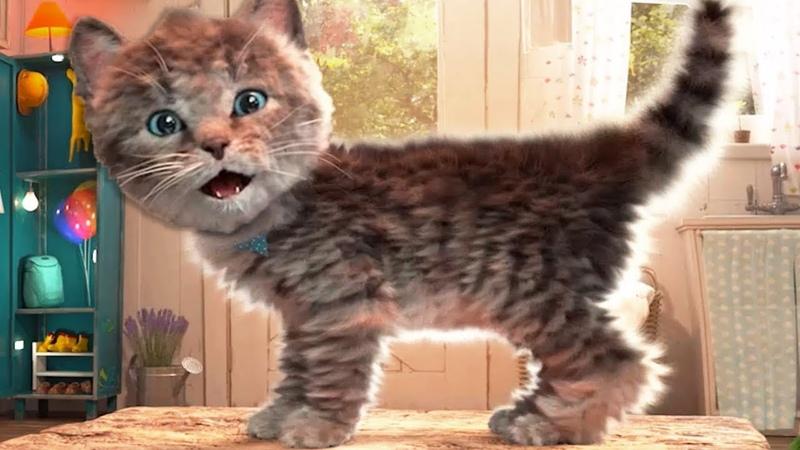 Fun Kitten Mini Games - Little Kitten Adventures - Little Kitten Care, Dress Up Party Fun Kids Games