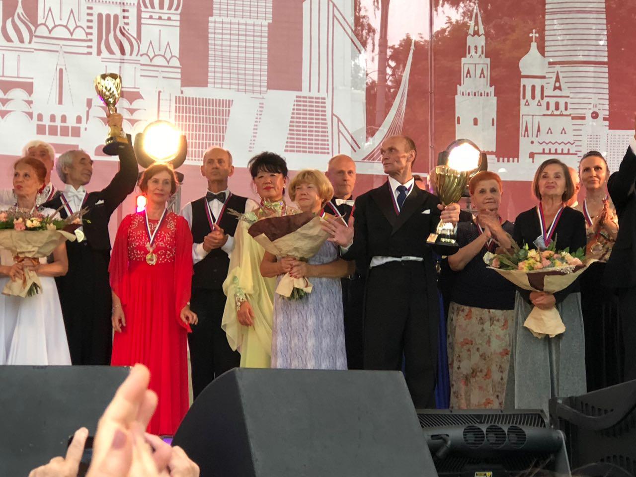 Танцевальный марафон в Сокольниках