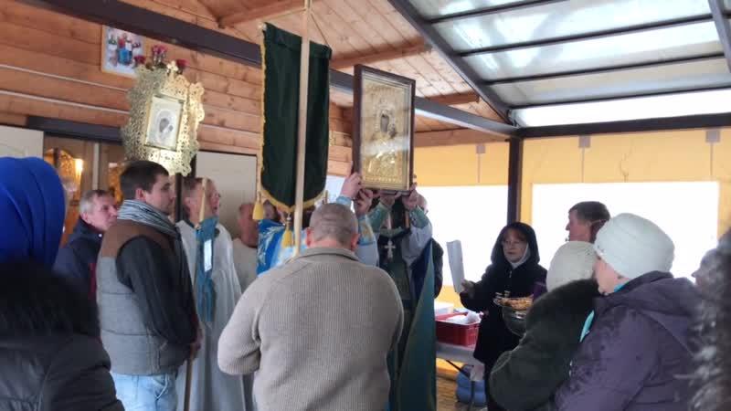 Престольный праздник иконы Божей Матери Ктиторской-Алтарницы 3.02.2019