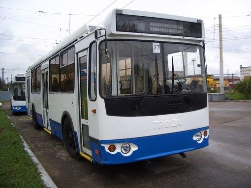 Новые троллейбусы в Костроме