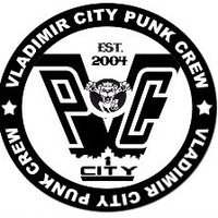 Логотип Vladimir City Punk Crew. Since 2004. (Закрытая группа)