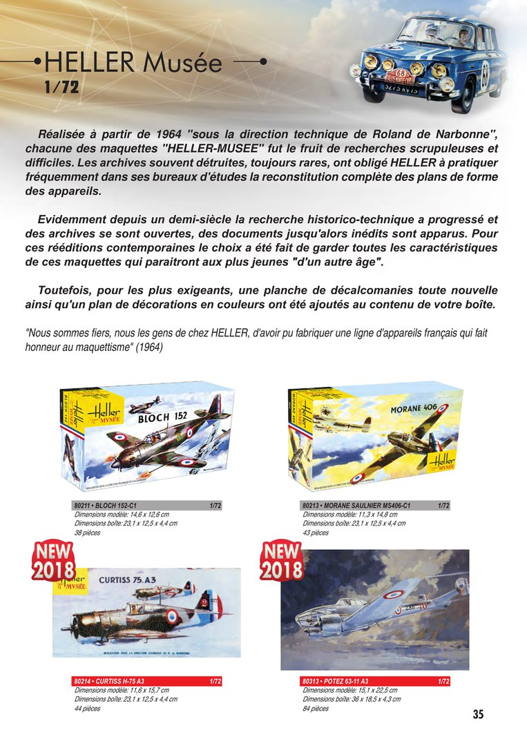 Heller 80389 1:72nd scale  Liore /& Olivier LEO451 Musee Special Edition