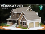 How To Make A BEAUTIFUL MANSION House From Cardboard European country house Project part 1