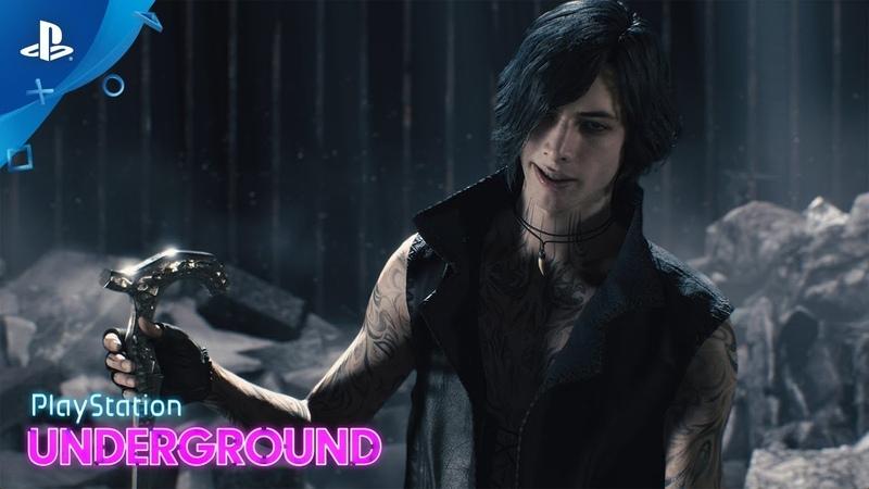 Devil May Cry 5 - V, Dante, Nero Gameplay | PS Underground