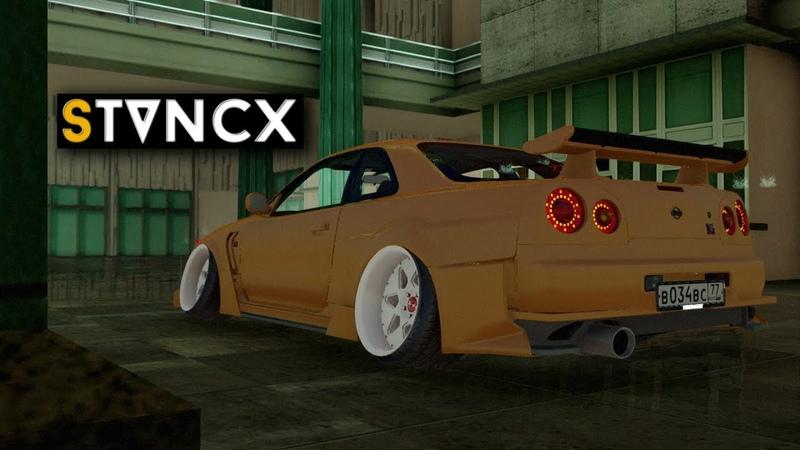 Nissan Skyline R34 Stanced | S T V N C X