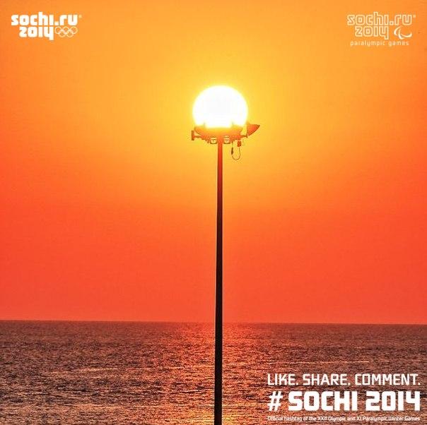 Осень тоже может быть красивой :)  Всем яркого и уютного вечера!  #Сочи2014 #Sochi2014