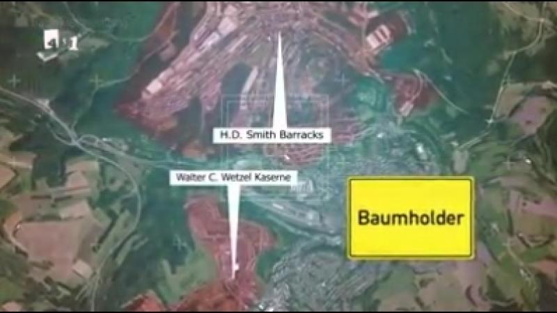Besetztes Deutschland - Gut versteckt US-Militärstützpunkte in Deutschland