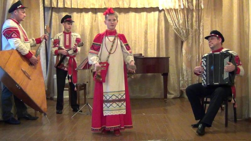 Кучинкая Полина, пгт Тяжинский - Берестяная коробочка, Вологодские припевки