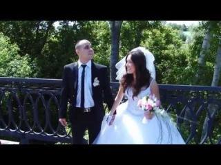 Айрат+ Алсу . Фрагмент свадебного фильма.