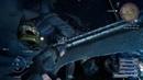 Aranea jumps in (Final Fantasy XV)