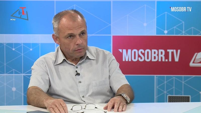 Игорь Марчак принял участие в программе Итоги недели с директором школы
