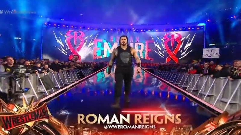 Roman Reigns Entrance | Wrestlemania 35 | Reigns Vs McIntyre | Akclub