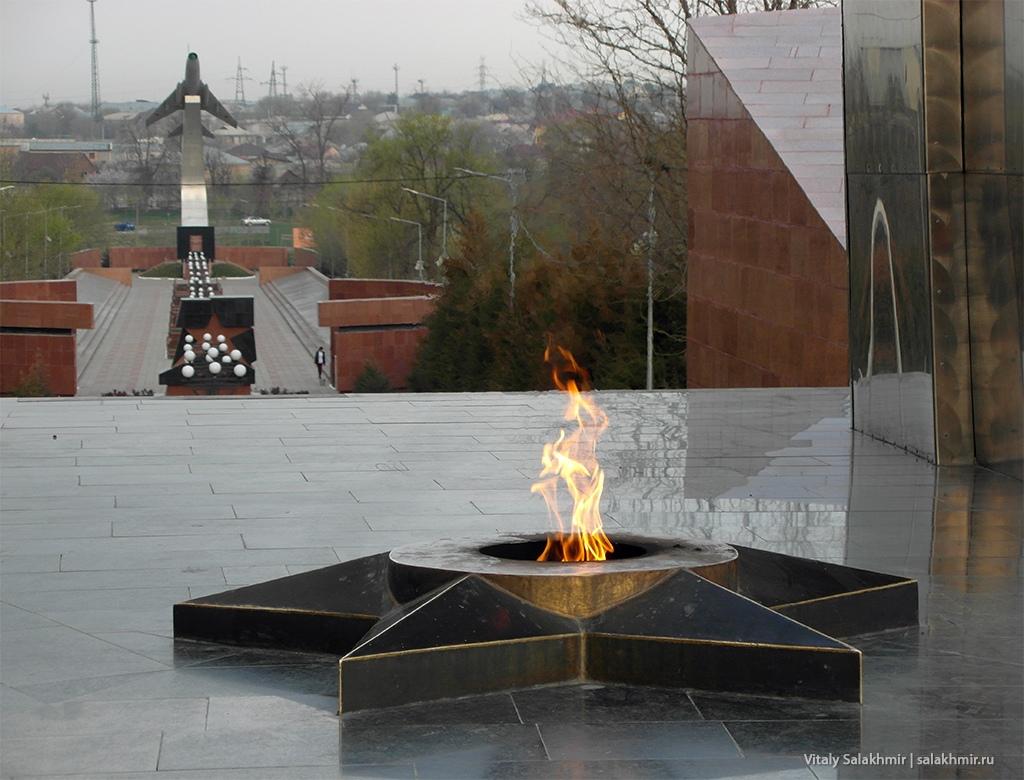 Вечный огонь, Шымкент 2019
