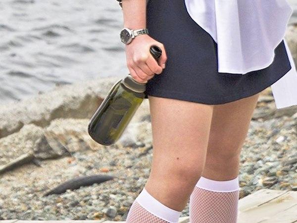 пьяные выпускницы устроили драку с ножами