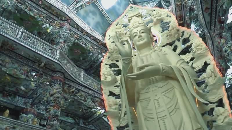 Линь Фуок - Храм битой посуды (Linh Phuoc Pagoda)Далат.Философия Рая и Ада