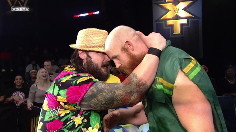 Relive Rowan's eerie WWE NXT debut