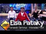 Elsa Pataky, Pablo Motos y Fernando Sartorius entrenan con Intensidad MAX en El Hormiguero