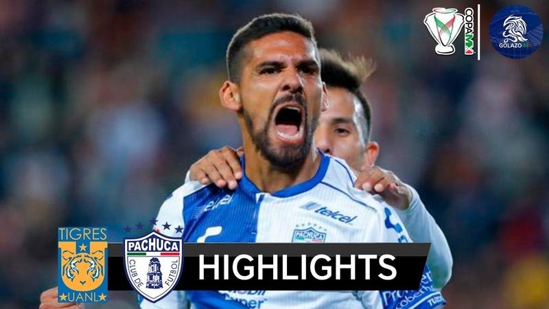 Pachuca vs Tigres UANL (6) 3-3 (5) | Resumen Goles Penales | Copa MX - Cuartos de Final | 2018 HD