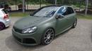 VW GOLF 6 GTI ! US ARMY LOOK ! VOLKSWAGEN GOLF VI ! WALKAROUND ! MATTE GREEN COLOUR ! SHOW CAR !