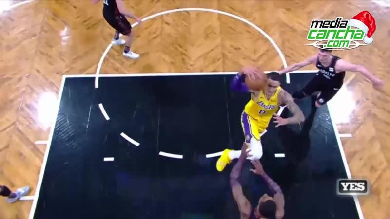 Nets sigue con racha ganadora, al superar a Lakers en temporada NBA