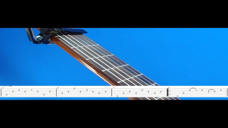 EVERY BREATH YOU TAKE GUITAR LESSON 1 (TAB ON SCREEN)