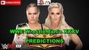 WWE WrestleMania 35 RAW Womens Championship Ronda Rousey vs Charlotte Flair Predictions WWE 2K19