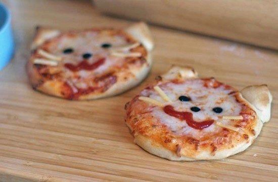 Пиццы-котятки