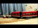 Лего пассажирский поезд LEGO 7938 Passenger Train Камера Fuji FinePix S1600