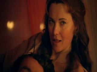 Интимная Сцена С Лесли-Энн Брандт – Спартак: Кровь И Песок (2010)