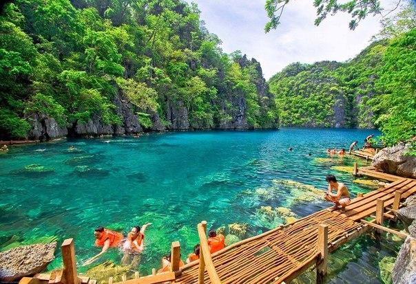 Озеро Каянган, о. Корон, Филиппины
