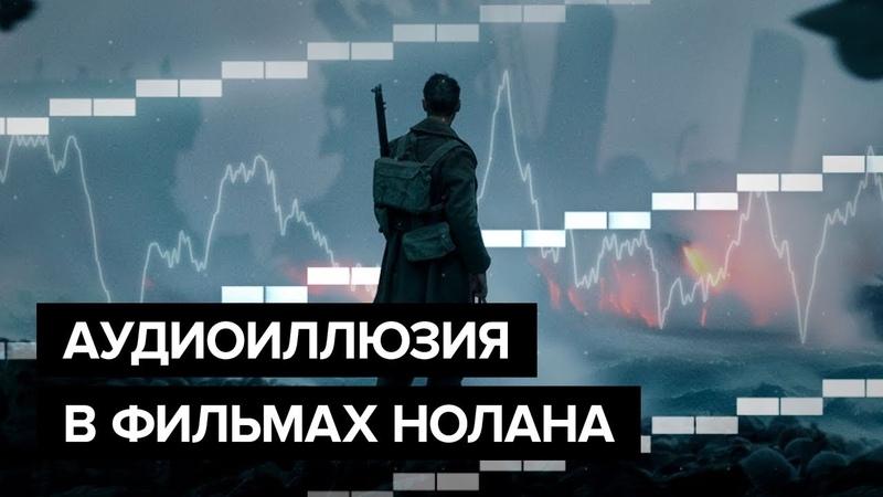 Аудиоиллюзия в фильмах Кристофера Нолана
