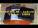 Распаковка TV Box MAGICSEE N5 на базе SoC Amlogic S905X 2Gb/16Gb 5G WiFi