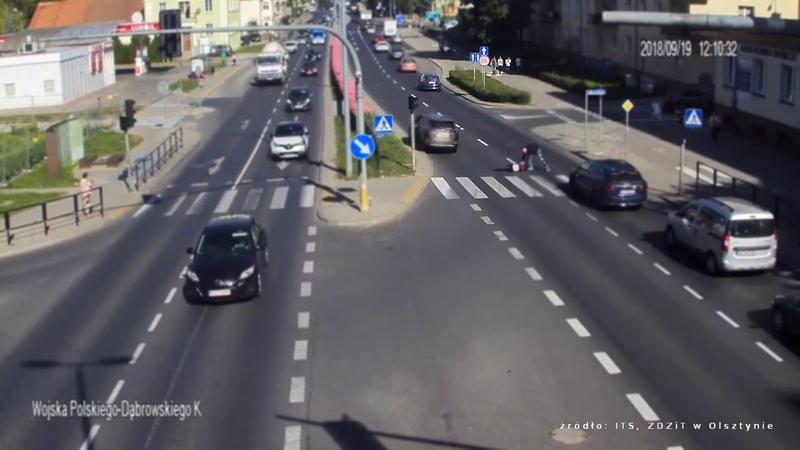 ДТП с Пешеходом в Польше 19.09.2018