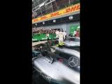 Aguero at Italian GP 2018 2