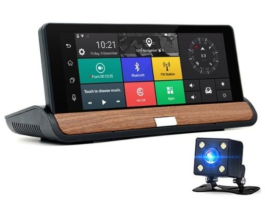 Многофункциональный видеорегистратор с Wi-Fi GPS Full HD.
