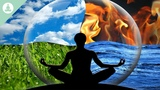 Harp, Bansuri Flute and Tibetan Bowls, Positive Vibrations, Meditation Music