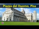 Best Tourist Attractions Places To Travel In Italy Piazza del Duomo Pisa Destination Spot