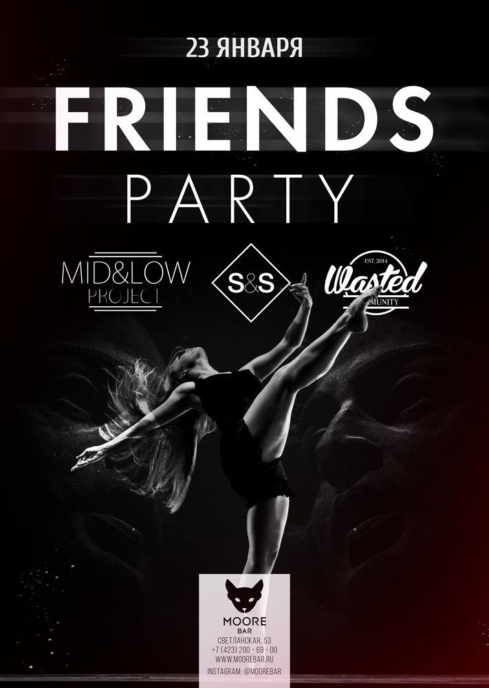 Афиша Владивосток Friends Party