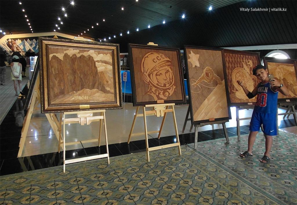 Картины из дерева, галерея Рух Ордо 2018