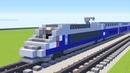 Minecraft SNCF TGV Duplex Power Car Tutorial
