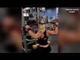 STRONG YOUNG GIRL _ Liv Roth _ Biceps Workout