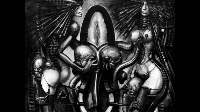 Hans Rudolf Giger - Erotomehanics - vol.2 Ханс Гигер, Арт, Чужой, Alien, erotic, porn, bdsm, бдсм, эротика, порно, фетиш, fetish