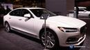 2018 Volvo S90 Momentum - Exterior and Interior Walkaround - 2018 Chicago Auto Show