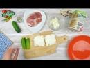 Рецепт хлебцы с огурцами
