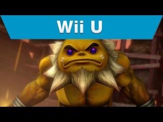 Wii U -- Hyrule Warriors Trailer with Darunia and a Hammer