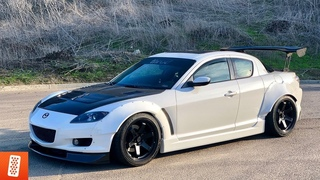 Building an RX-8 in 8 minutes!
